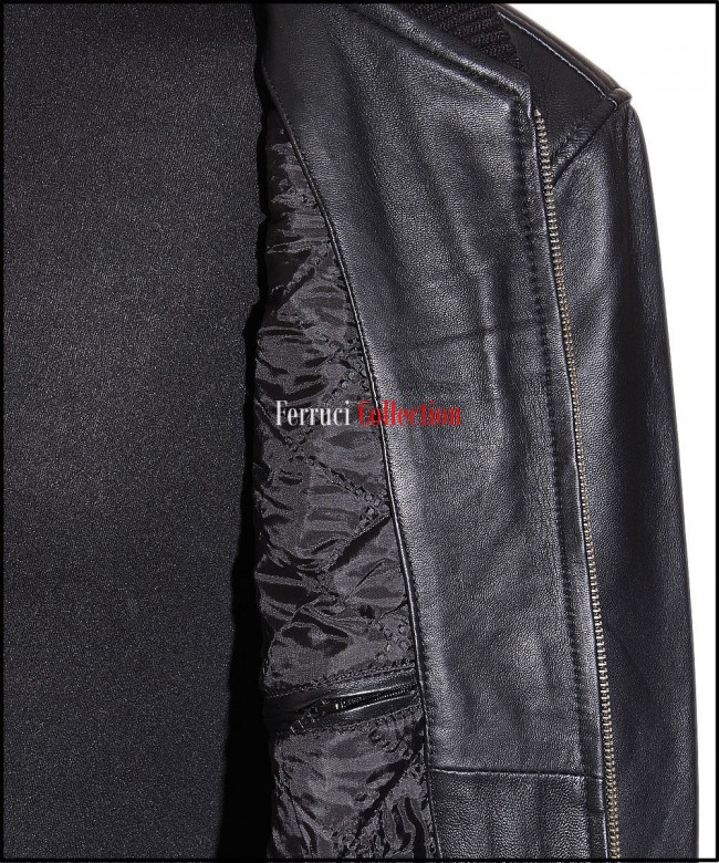 70/'s Classic Bomber Black Men/'s Smart Vintage Real Soft Lambskin Leather Jacket